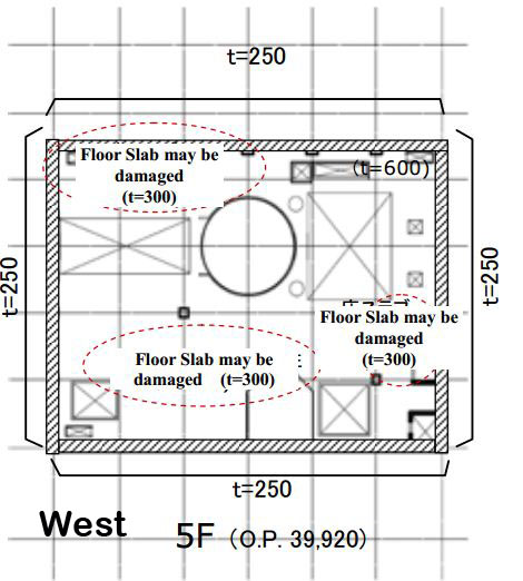 West_U4_floorslab5F
