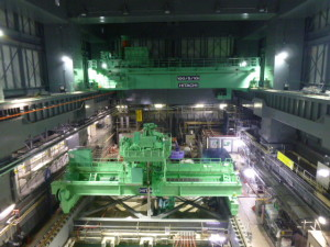 TEPCO Shows New Cranes Inside Unit 4 Defueling Building