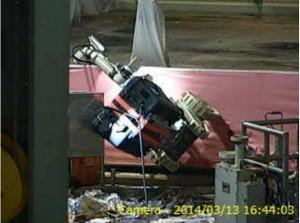 Fukushima Unit 2; 5th Floor Work Progresses.. Sort of.