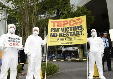 TEPCO shareholders' meeting