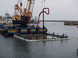 Fukushima Daiichi; Work Begins To Concrete Port A Second Time