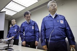 3 TEPCO Executives To Stand Trial For Fukushima Disaster