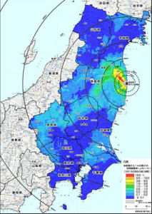 Japan-Radiation-Map
