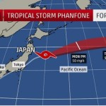 Typhoon Causes Some Disruptions At Fukushima Daiichi