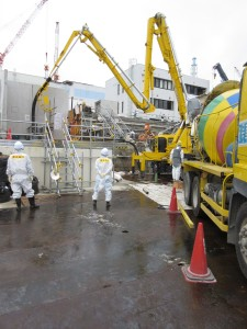 TEPCO Begins Concreting Unit 3 Trench