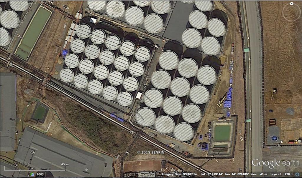 H4 tank farm leak area 1