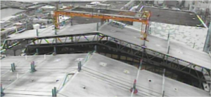 Fukushima Unit 1 Cover Partially Removed, Remaining Work Delayed