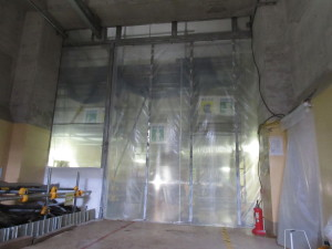 Fukushima Unit 1 Airflow Blocking Door Completed