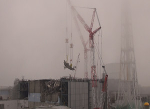 Fukushima Unit 3 Fuel Crane Removed From Spent Fuel Pool
