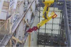 TEPCO Releases Photos Of Fukushima Unit 1 Demolition