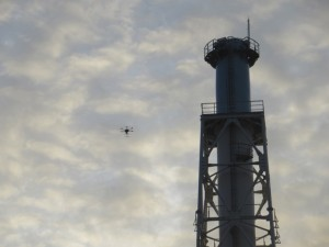 Drones Used To Inspect Fukushima Vent Tower
