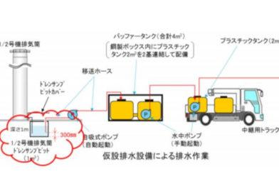 Fukushima Radioactive Sump Water Disappears