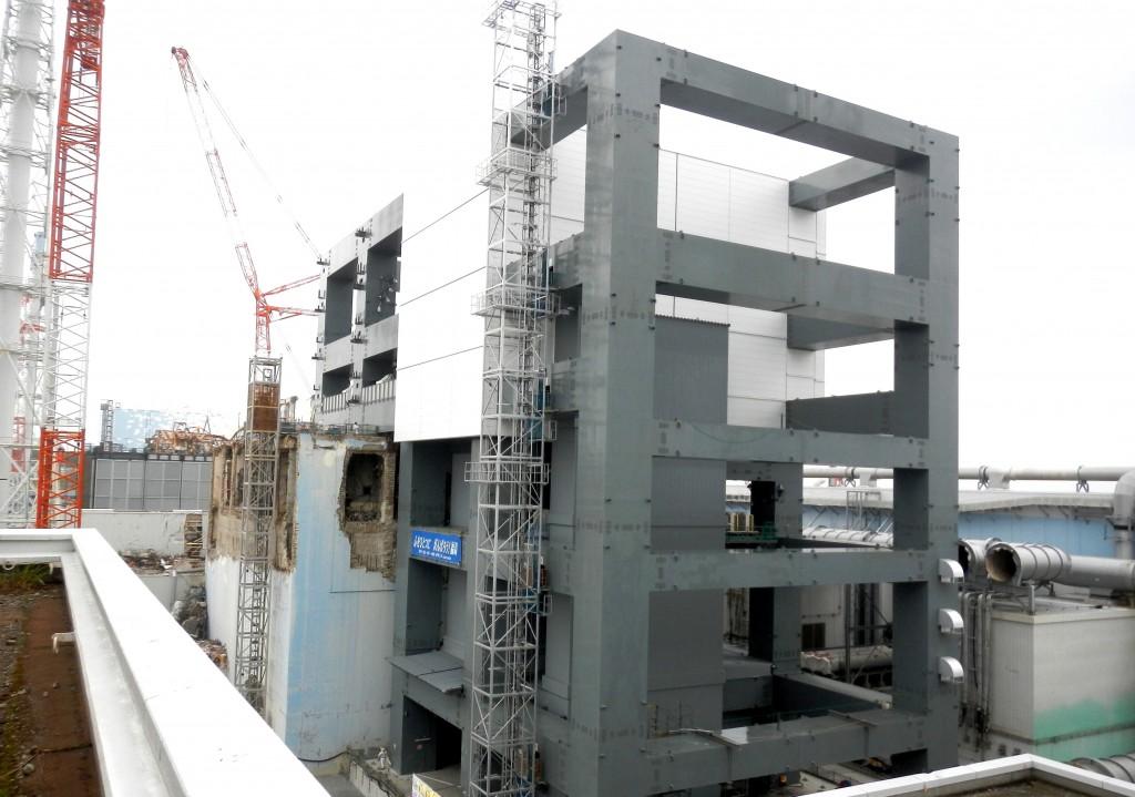 Unit 4 defueling building
