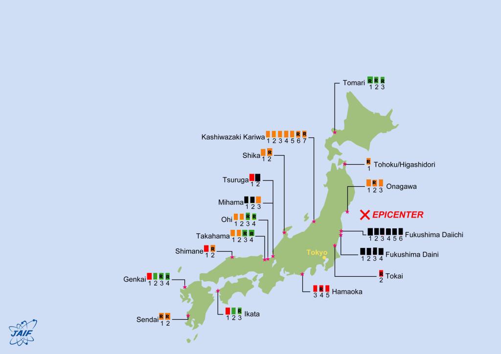 Status NPP Japan-1