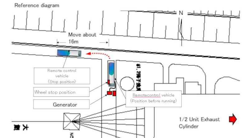 Runaway Bus Causes Damage At Fukushima Daiichi