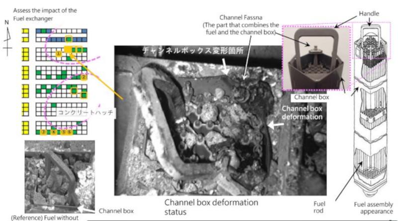 Fukushima Unit 3 Spent Fuel Damage Identified