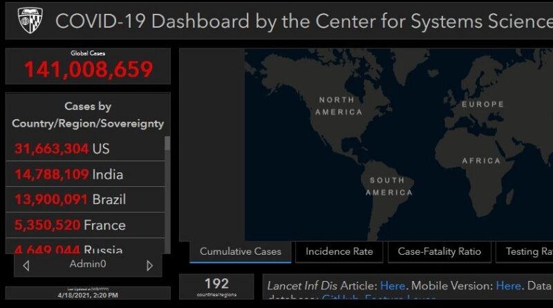 SimplyInfo.org Coronavirus Live Blog 5.11.2021