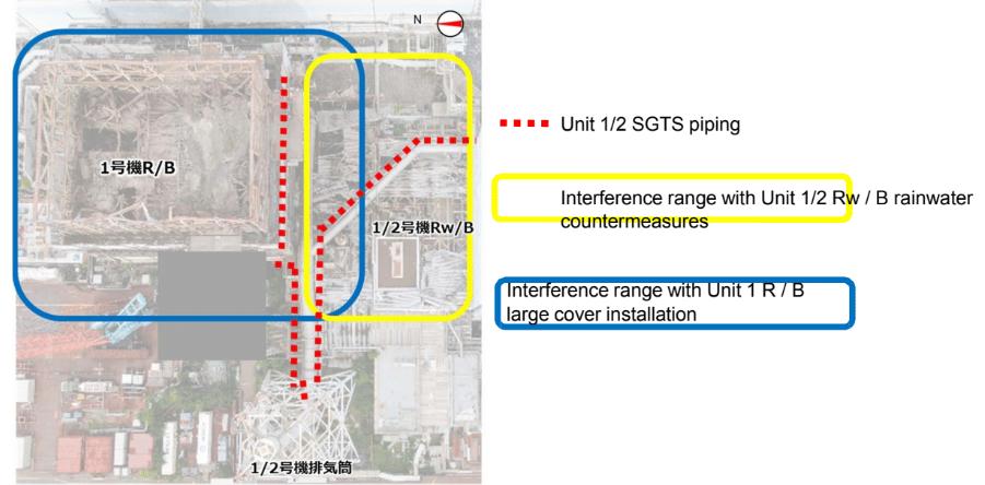 fukushima daiichi cover building footprint 2021